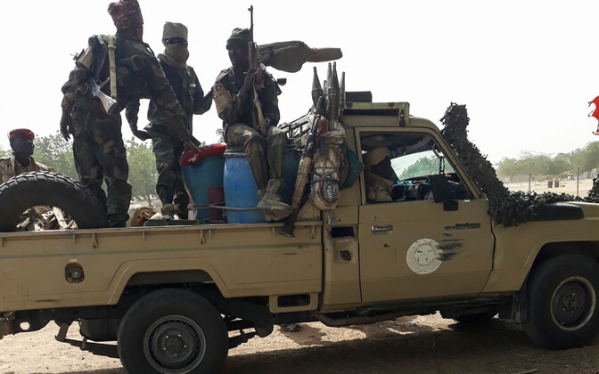 Tšaadi sõdurid, arhiivifoto.