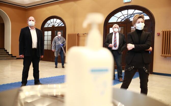 Riigikogu juhatuse valimised.