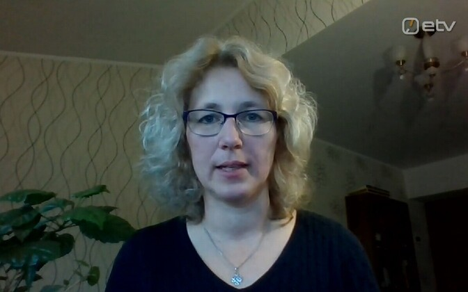 Mathematician Krista Fischer appearing via video link on Wednesday's