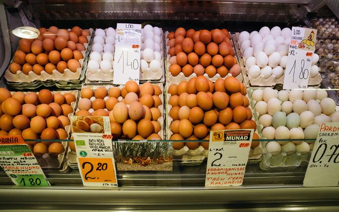 В основном на рынке будут торговать продуктами питания. Иллюстративный снимок.