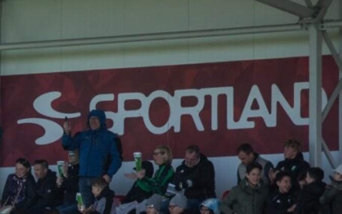 Sportland logo.-