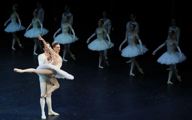 Vene Suure Teatri balletitantsijad.