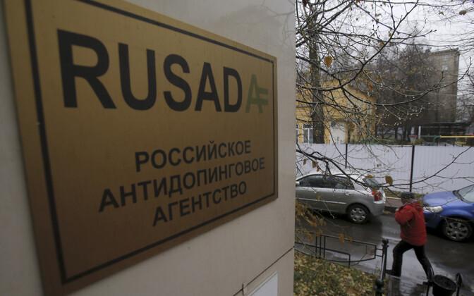 Venemaa antidopingu silt Moskvas