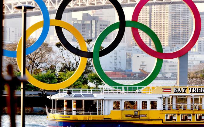 Tokyo olümpiamängude rõngad