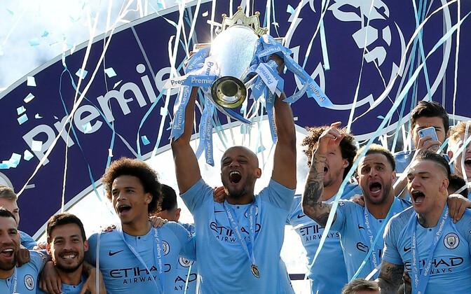 Valitsev Inglismaa jalgpallimeister Manchester City