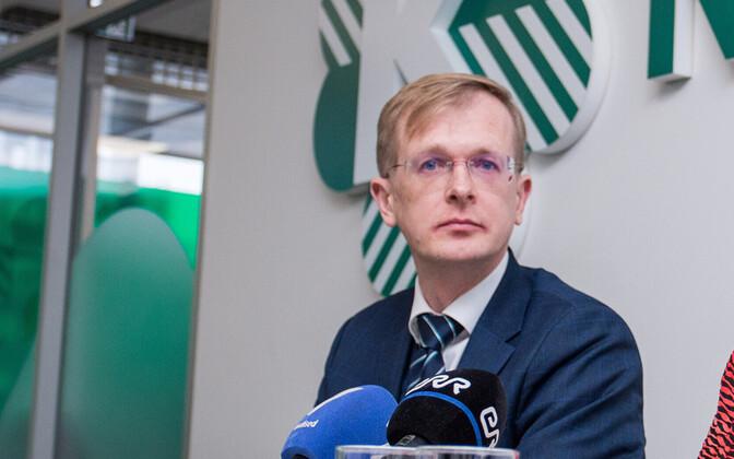 Председатель Таллиннского горсобрания Тийт Терик.