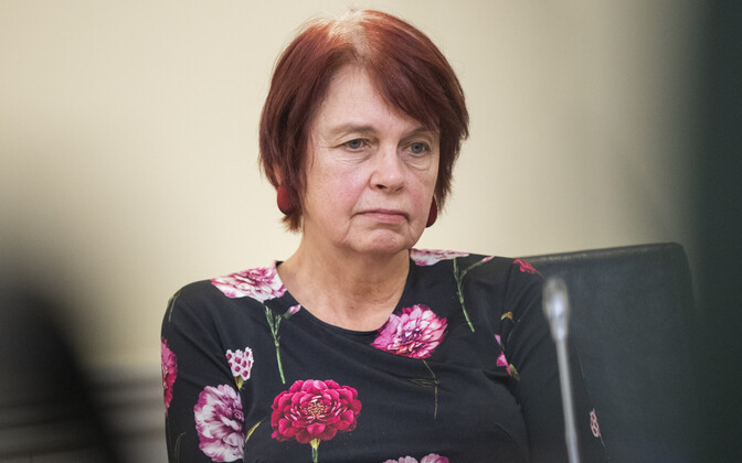 Viroloogiaprofessor Irja Lutsar