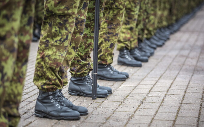 EDF conscripts' boots on the ground.