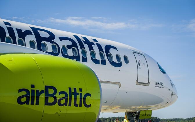 Груз из Китая доставил самолет AirBaltic.