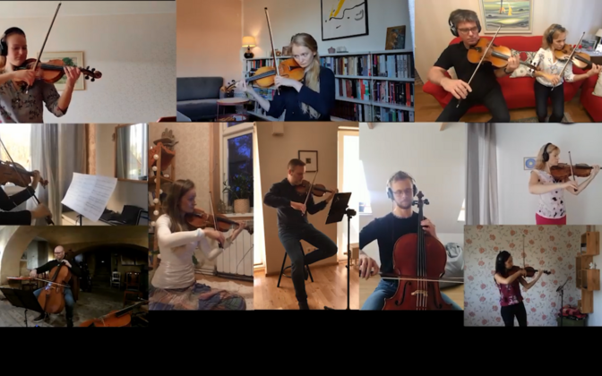ERSO salvestas videotervituse oma muusikute kodudest.