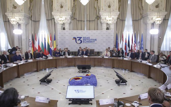 2018. aasta Kolme Mere tippkohtumine peeti Rumeenias.