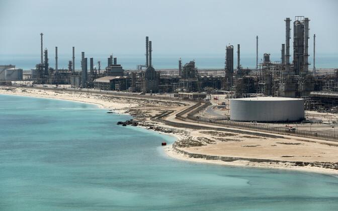 Saudi Araabia naftatööstus.
