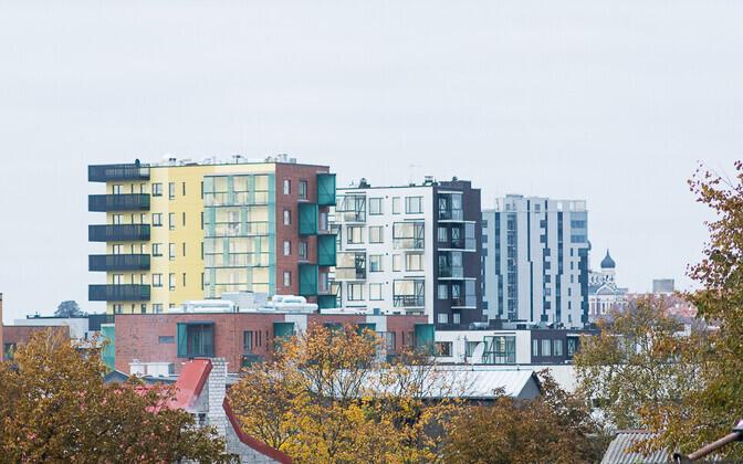Kortermajad Tallinnas.