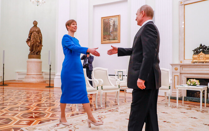 President Kersti Kaljulaid had invited President Vladimir Putin to the world congress.