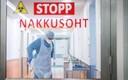Nakkusohu eest hoiatav kiri Põhja-Eesti regionaalhaiglas