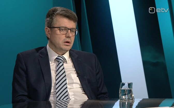 Estonian Minister of Foreign Affairs Urmas Reinsalu (Isamaa).