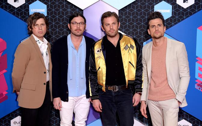 Kings of Leon 2016. aasta MTV Euroopa muusikaauhindade jagamisel.
