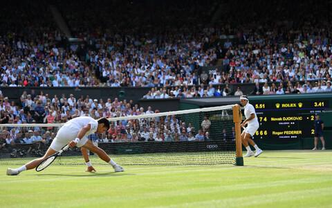 Mullune Wimbledoni tenniseturniiri meeste üksikmängu finaal