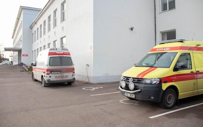 Больница в Курессааре оказалась в тяжелом положении.