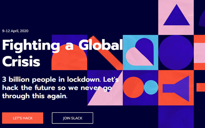 The Global Hack is scheduled to take place online from April 9-12.