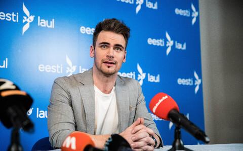 Победитель эстонского отборочного конкурса Eesti Laul-2020 Уку Сувисте.