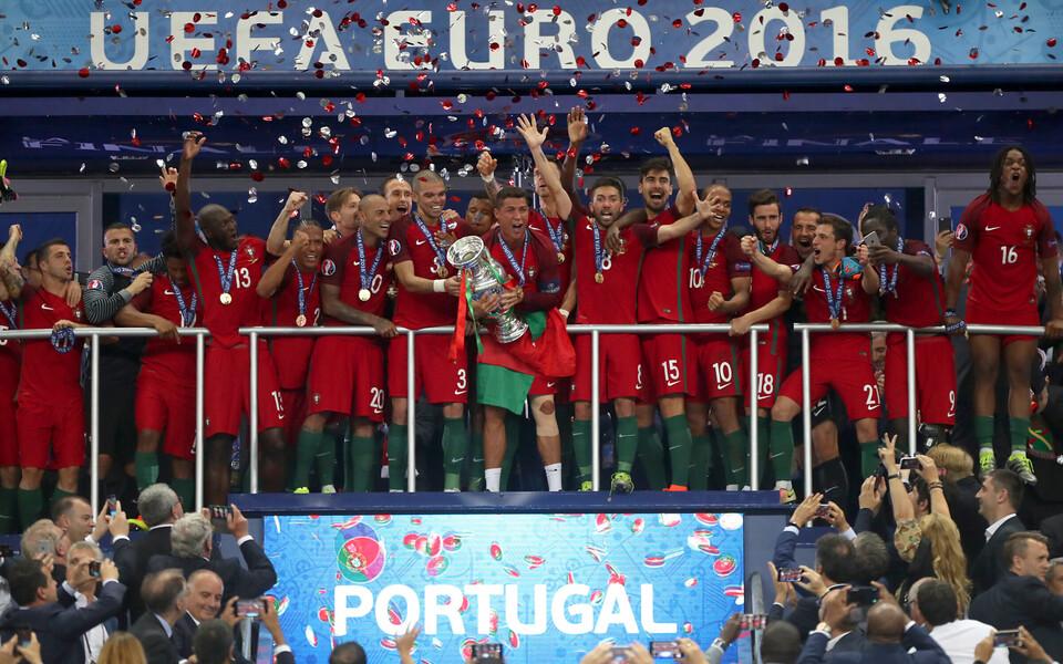 2016. aastal tuli Euroopa meistriks Portugal