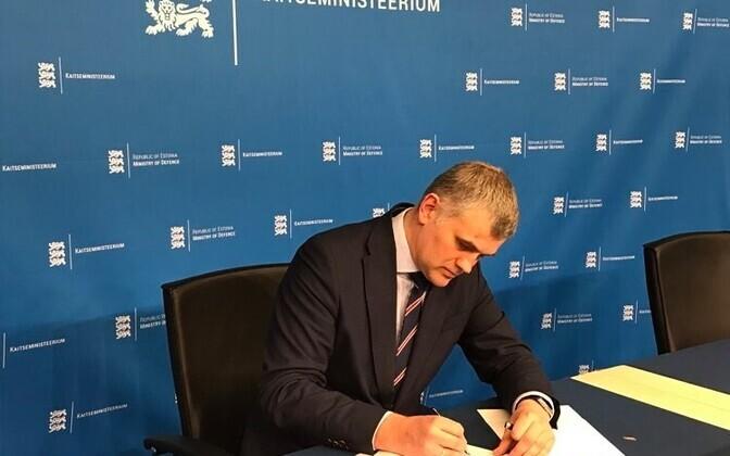Ministry of Defence Permanent Secretary Kristjan Prikk.