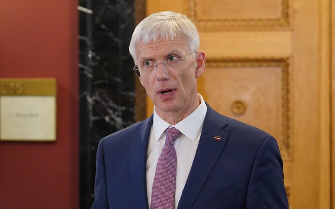 Премьер-министр Латвии Кришьянис Кариньш.