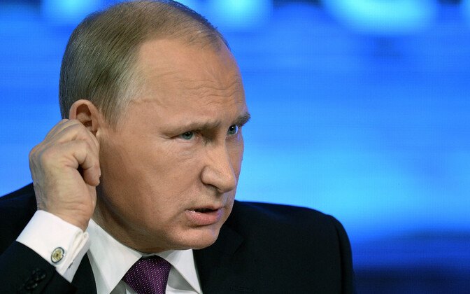 Vene president Vladimir Putin