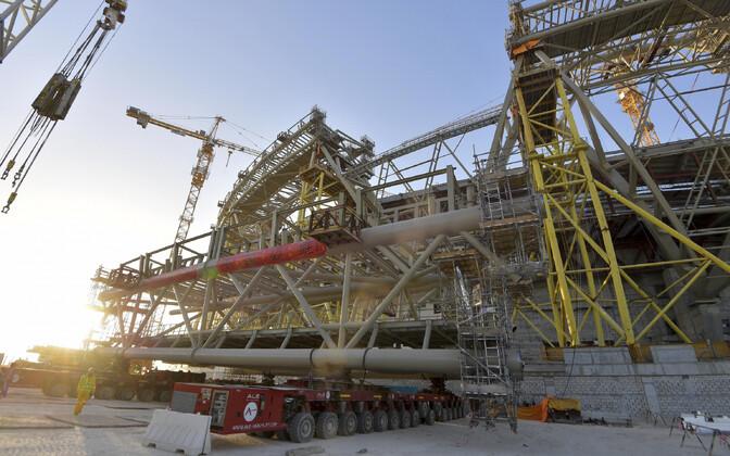 Jalgpallistaadioni ehitus Kataris