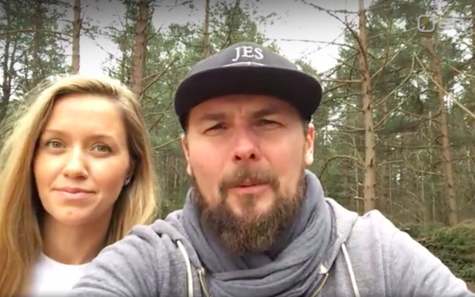 Mari Ojasaar ja Jesper Parve