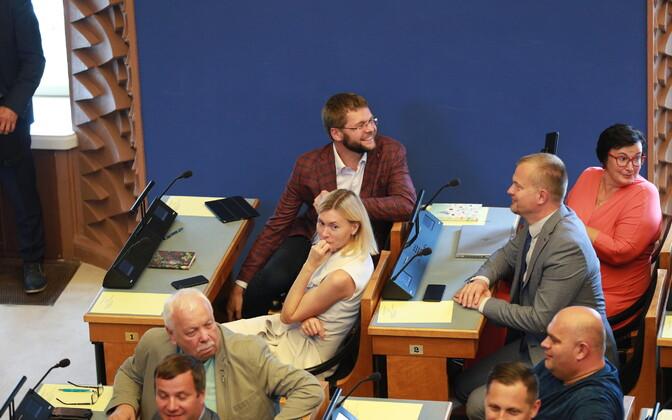 Sotsiaaldemokraatide fraktsioon riigikogus.