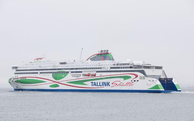 Tallinki uusim laev Megastar