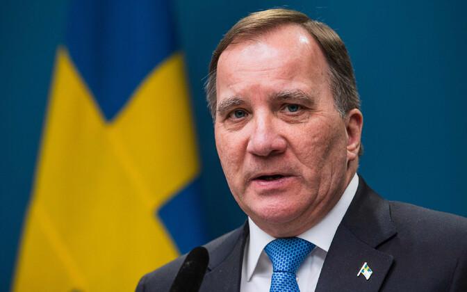 Премьер-министр Швеции Стефан Лёвен.
