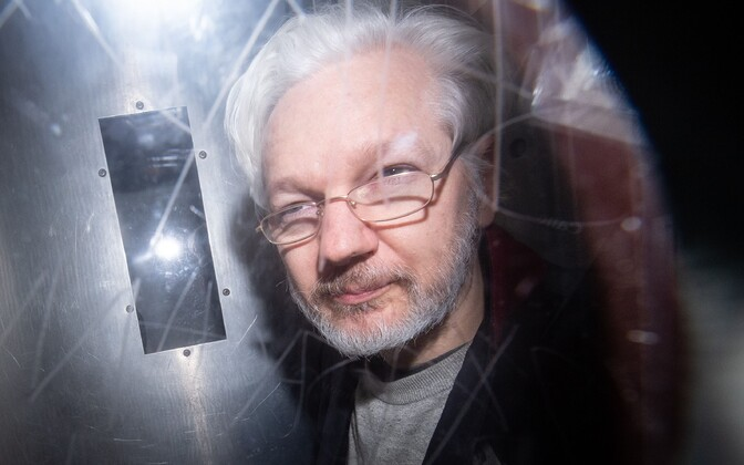 Assange 2020. aasta jaanuaris.