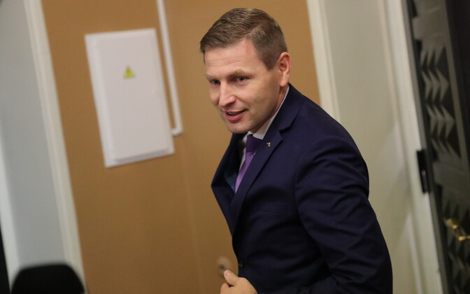 MP Hanno Pevkur (Reform).