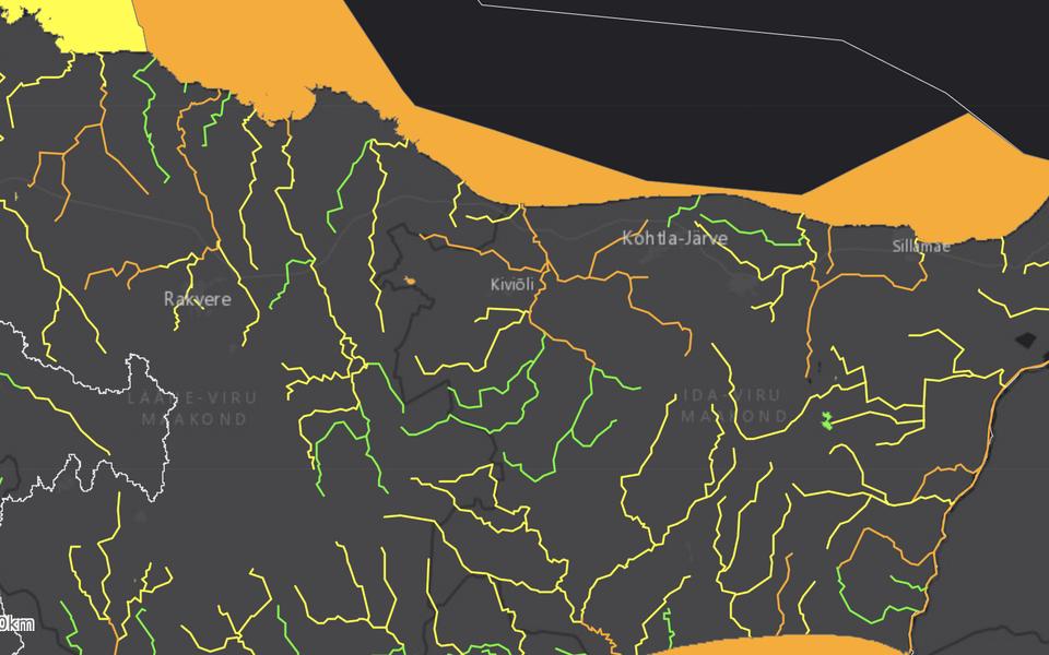 Viru alamvesikonna pinnaveekogumid ja nende seisund