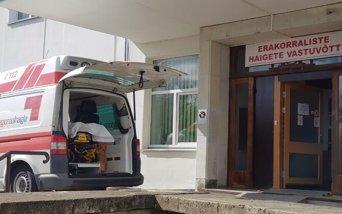 Erakorraliste haigete vastuvõtt Kuressaare haiglas