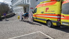 Kuressaare hospital patients transported to the mainland.