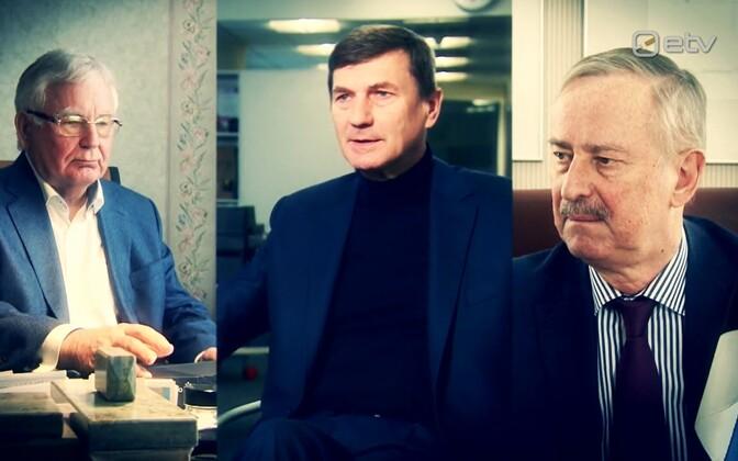 Бывшие премьер-министры Тийт Вяхи, Андрус Ансип и Сийм Каллас оценили работу нынешнего правительства в условиях кризиса.