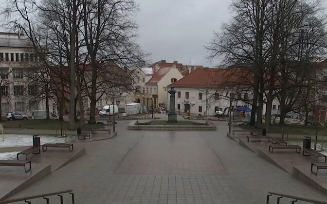 Сквер Пирогова в Тарту.