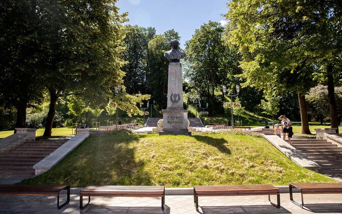 Pirogov park in Tartu.
