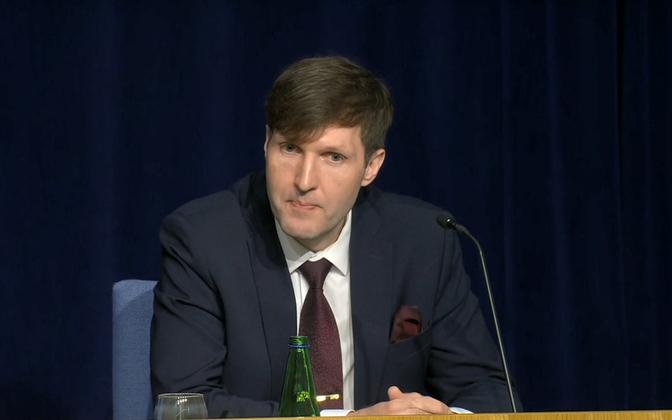 Minister of Finance Martin Helme.