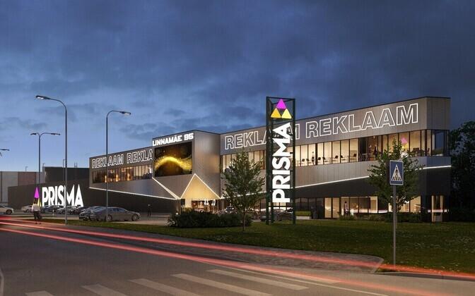 Новый торговый центр на перекрестке Линнамяэ теэ и Уссимяэ теэ по планам откроется осенью 2021 года.