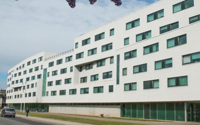 Общежитие на улице Раатузе в Тарту.