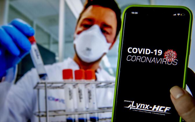 В настоящий момент приложение для оповещения о контактах с больными коронавирусом используется, например, в Сингапуре. Иллюстративная фотография.