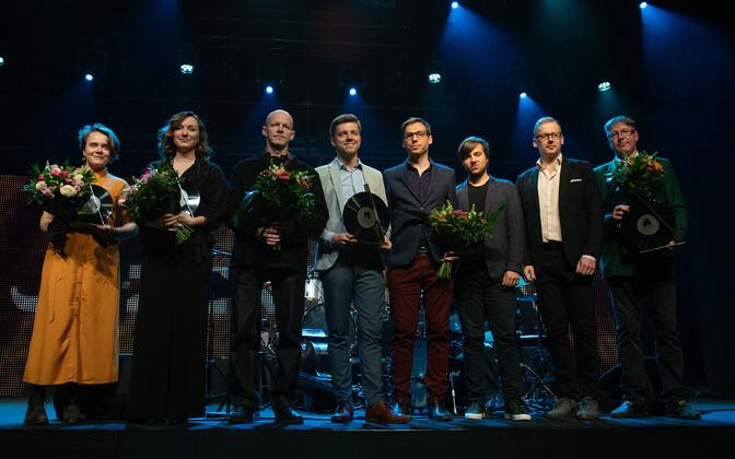 Eesti jazziauhindade laureaadid aastal 2019.