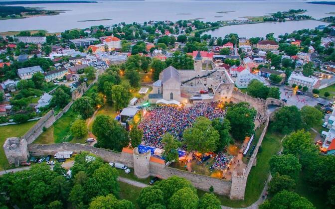 Фестиваль итальянской музыки в Хаапсалу в прошлом году.