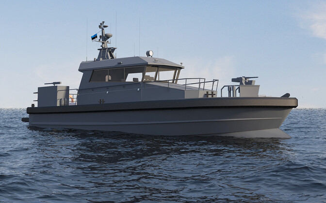 Force protection patrol boats which will be built by Estonian company Baltic Workboats AS.