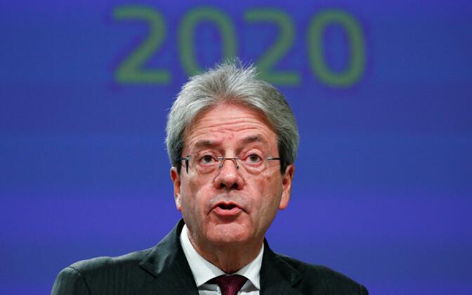 Euroopa Komisjoni volinik Paolo Gentiloni.